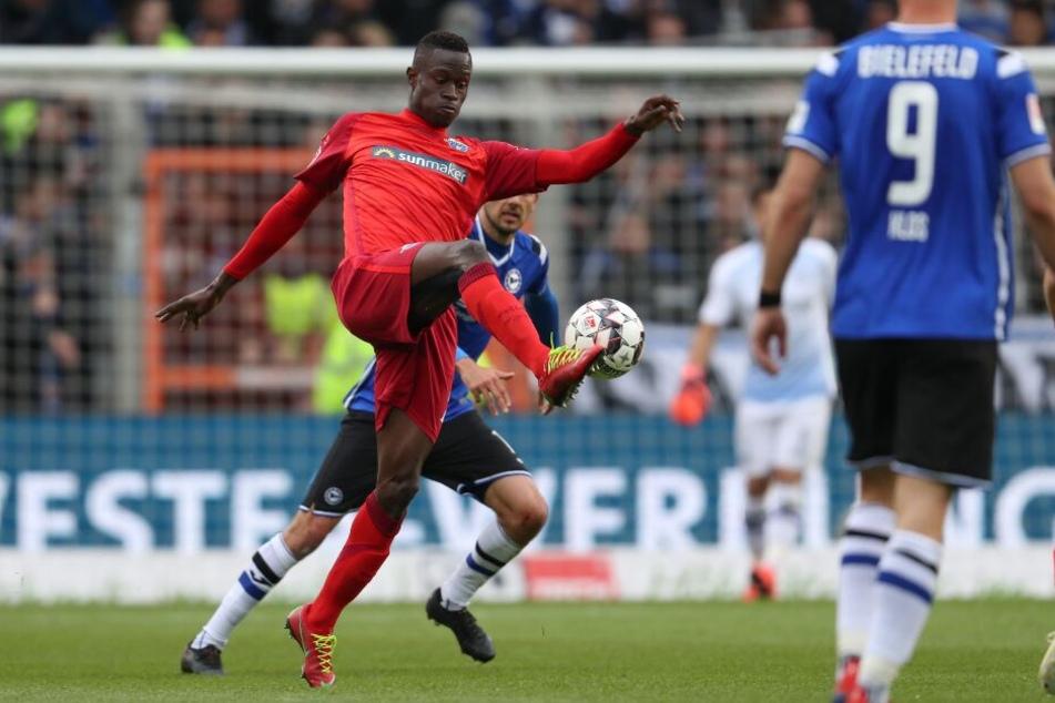 Gegen Arminia Bielefeld verlor der SCP mit 0:2.