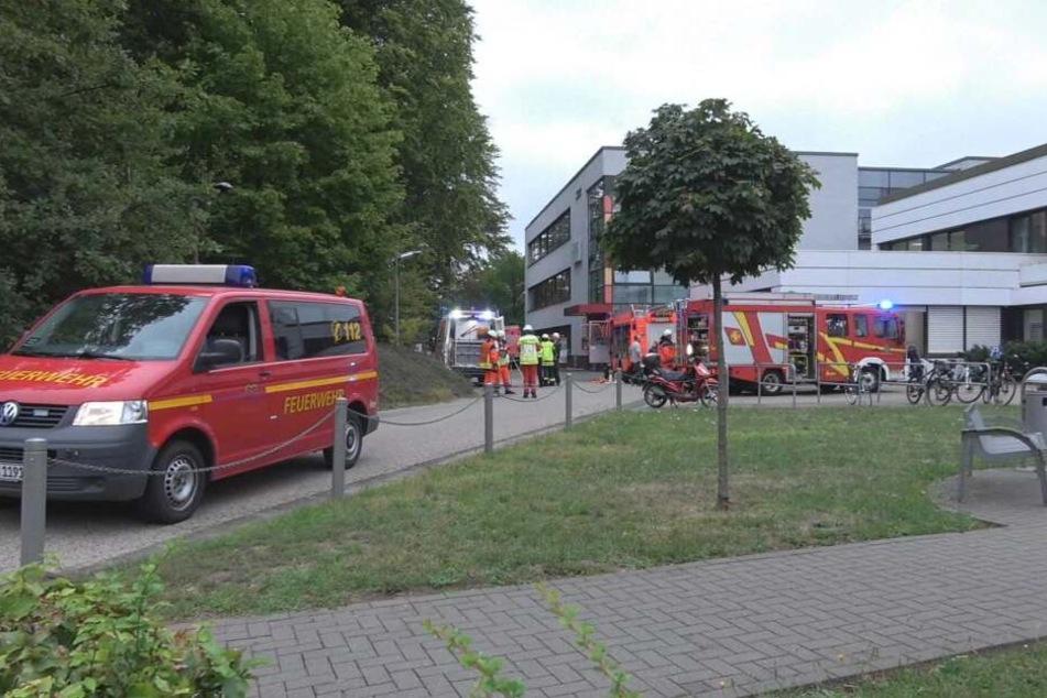 Die Feuerwehr konnte 28 Patienten rechtzeitig retten.