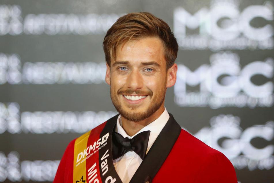 """Sasha Sasse wurde zum """"Mister Germany 2019"""" ernannt."""