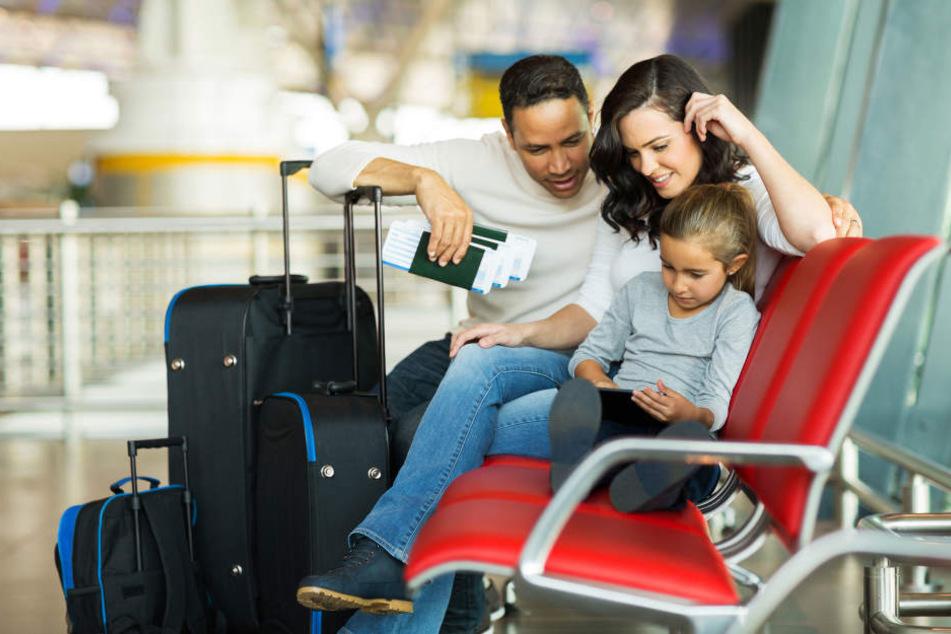 Die ganze Familie hatte sich so sehr auf den Urlaub gefreut. (Symbolbild)