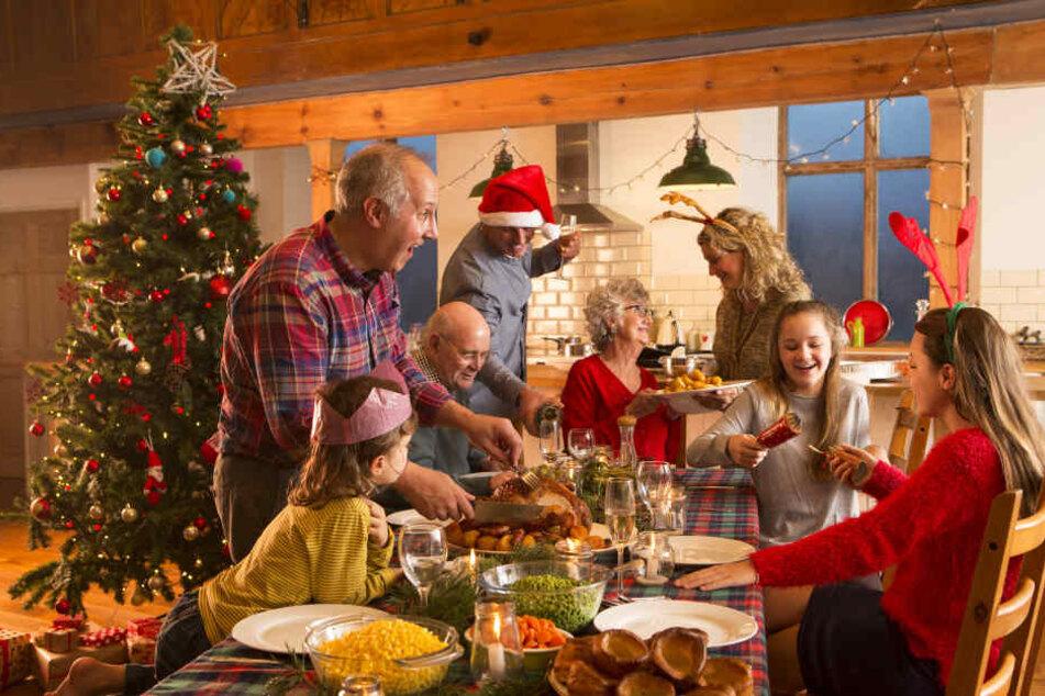 Die ganze Familie auf einem Haufen? Das kann schön sein, für manchen aber auch stressig.