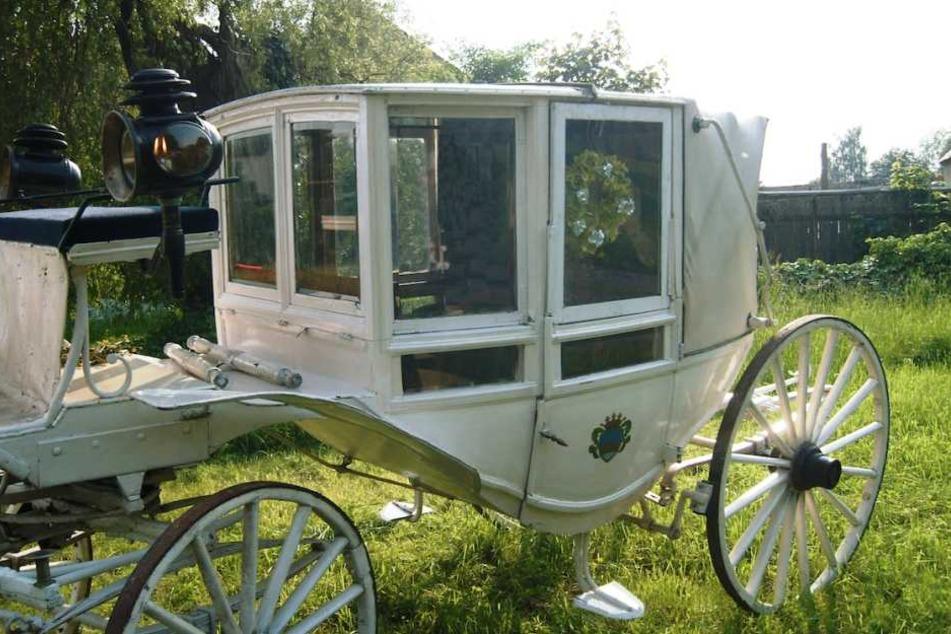 Diese 150 Jahre alte, historische Kutsche wurde aus einer Scheune in Weißbach entwendet.