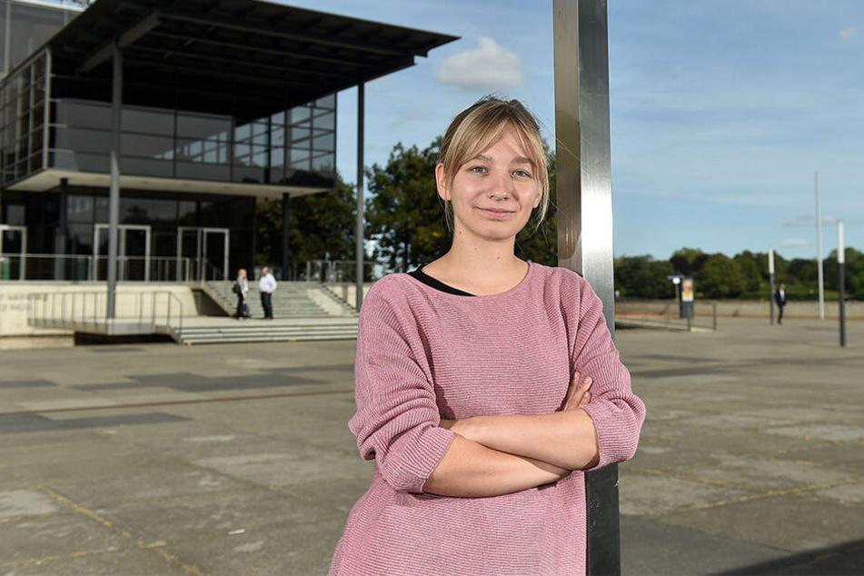 Jüngste Abgeordnete im Landtag: Lucie Hammecke (22, Grüne).