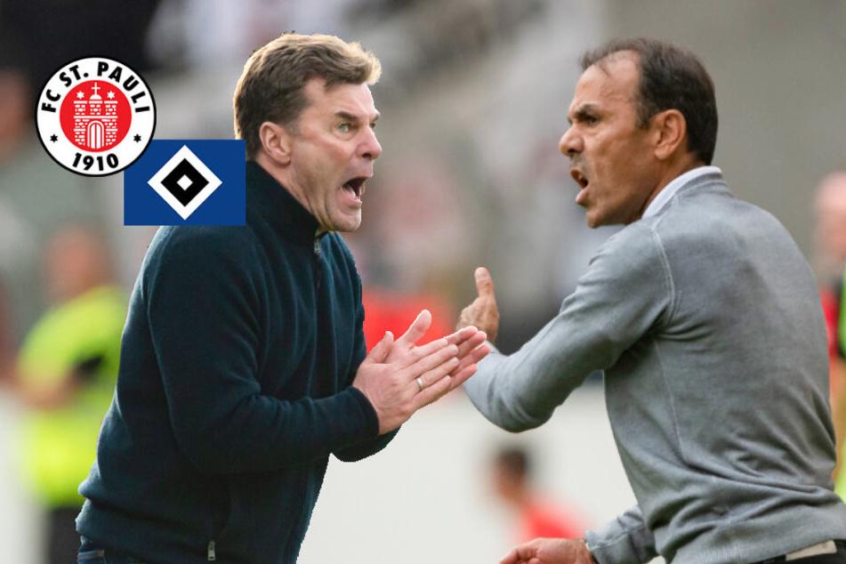 HSV gegen St. Pauli: Wer holt sich im Derby die Vormachtstellung?