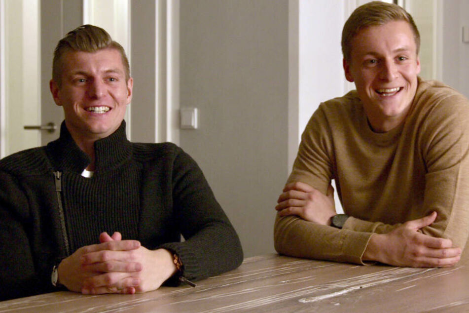 Die Brüder Toni und Felix Kroos