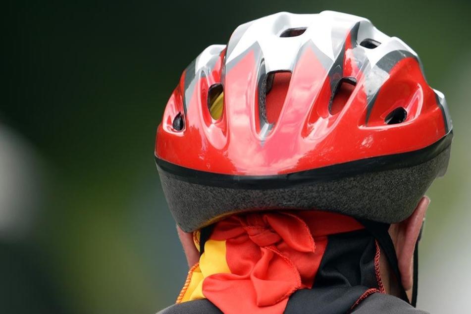 Er bleibt weiterhin umstritten: Der Fahrradhelm (Symbolbild).