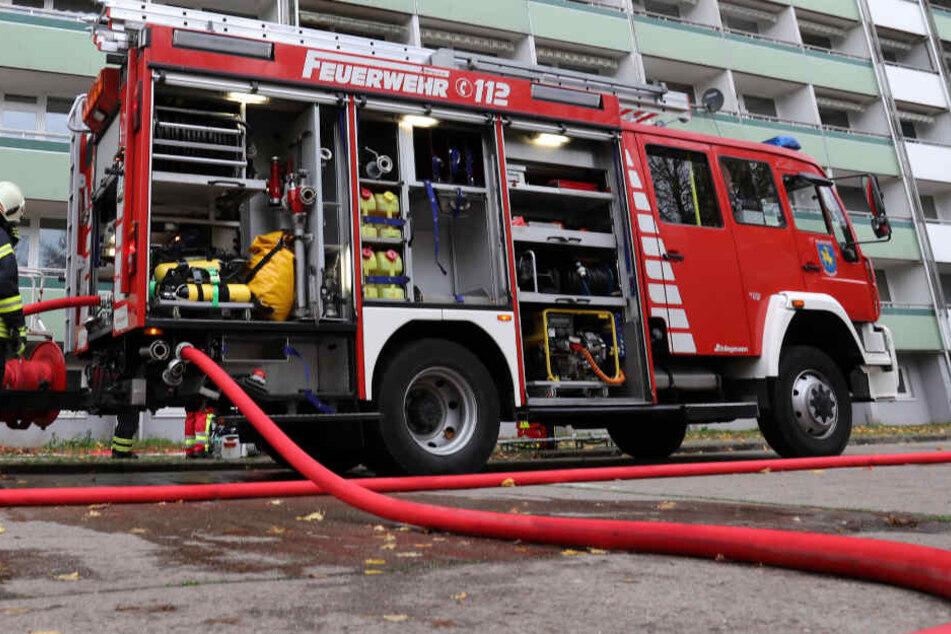 Kellerbrand in Mehrfamilienhaus: Evakuierung!