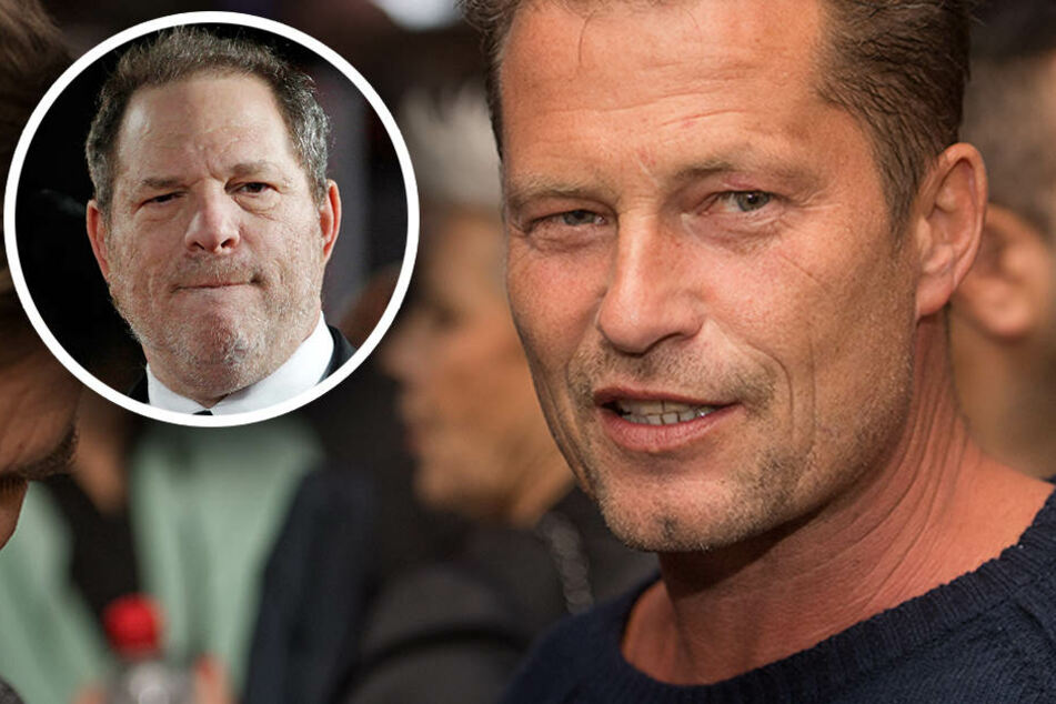 Til Schweiger spricht über die aktuellen Missbrauchsvorwürfe in Deutschland und Harvey Weinstein. (Bildmontage)