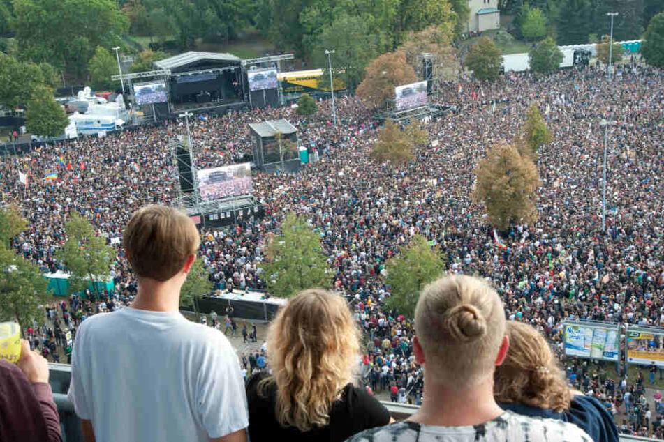 """Nachfolger des """"#wirsindmehr""""-Konzerts: Chemnitz feiert (sich) beim Kosmos-Festival"""