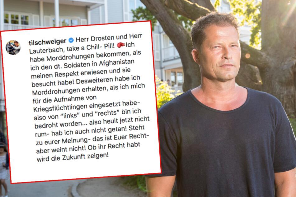 """""""Heult jetzt nicht rum""""! Til Schweiger ätzt weiter gegen deutsche Virologen"""