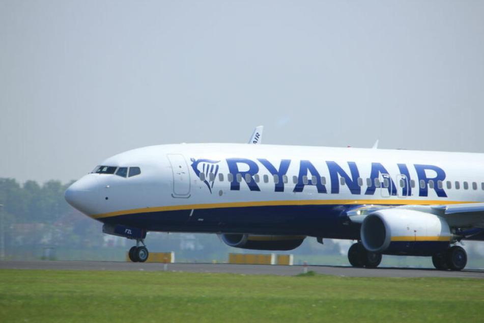 Die Billig-Airline Ryanair.