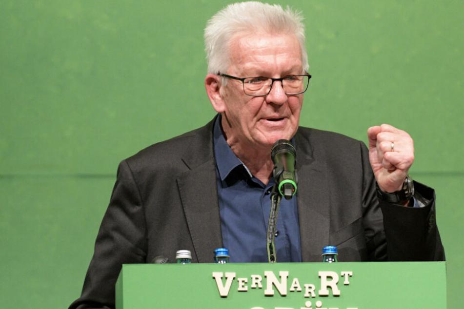 """Ministerpräsident Winfried Kretschmann (Grüne) zollt den """"Fridays for Future""""-Anhängern Respekt. (Archivbild)"""