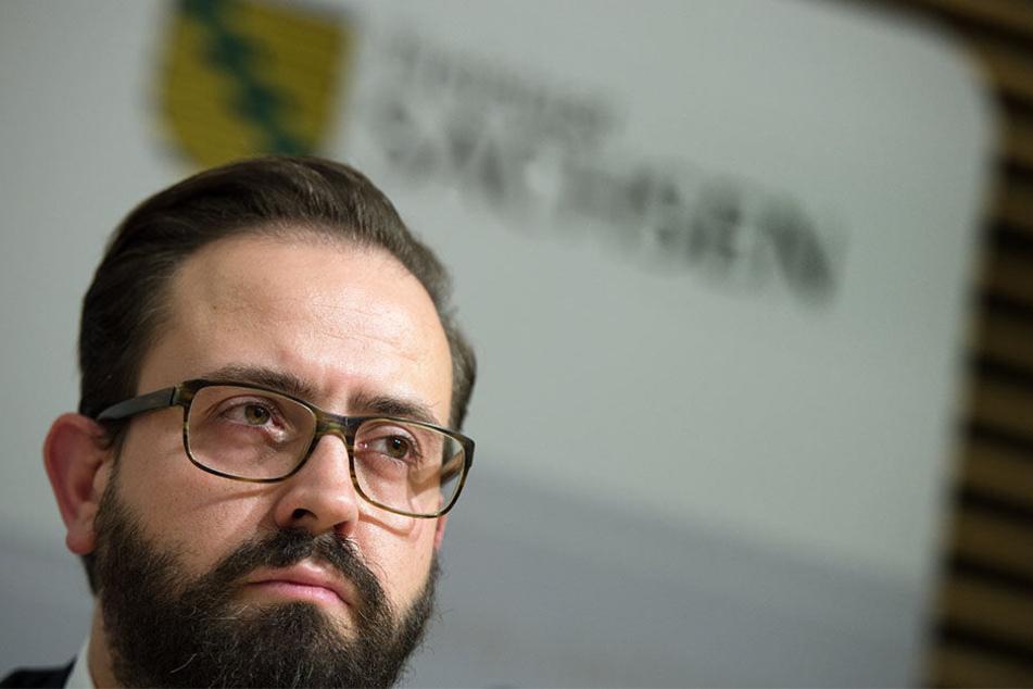 Justizminister Sebastian Gemkow (40, CDU).