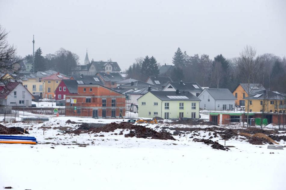 Das gefragte Bauland hinter dem DRK-Klinikum in Rabenstein kommt auf 125 Euro / Quadratmeter.