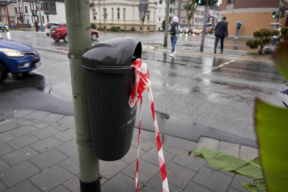 Das Foto zeigt die Kreuzung, auf der sich die Attacke ereignete.