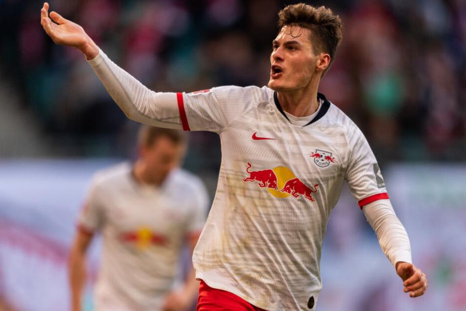 """Patrik Schick gibt sich trotz drei Punkten Rückstand auf Bayern kämpferisch: """"Nach 34 Spielen wird abgerechnet."""""""