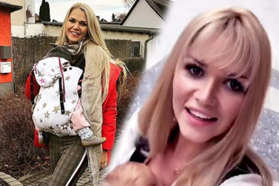 Ex-GNTM-Teilnehmerin Sara Kulka hat sich beim Frisör ein Pony schneiden lassen. Ihr selbst gefällt das Umstyling. Und Euch?