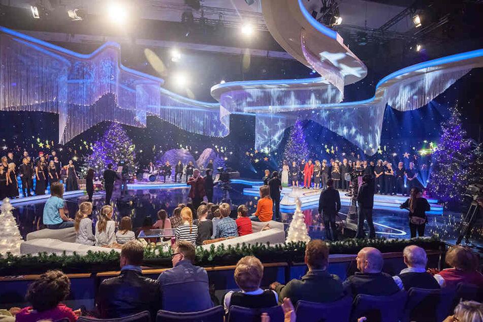 """Die Show hat Tradition: """"Weihnachten bei uns"""" in der Stadthalle Chemnitz."""