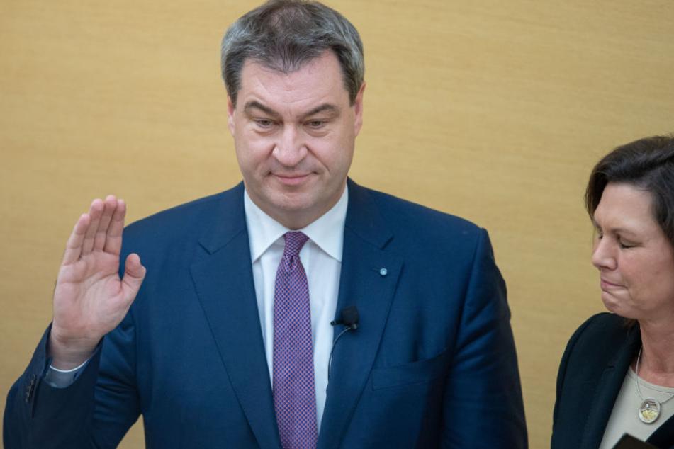 Markus Söder ist nach der Landtagswahl weiter Ministerpräsident Bayerns. (Archivbild)