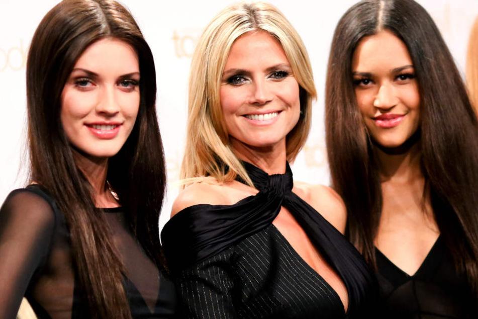 Mit 16 gewann Lovelyn (rechts) die GNTM-Staffel.