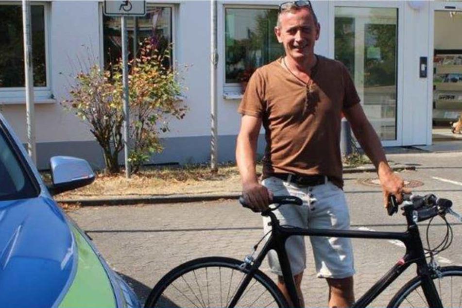 Das 2.800 Euro teure Fahrrad war ihm kurz nach dem Kauf aus der Garage gestohlen worden – im November 2006.