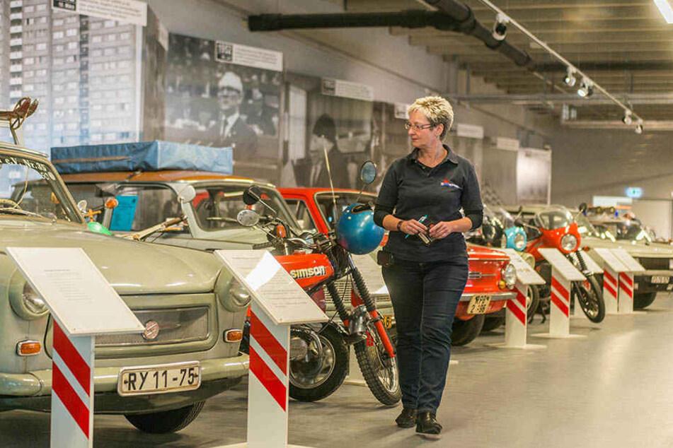 Gabi Reißig (54) ist die neue Chefin im DDR-Museum.