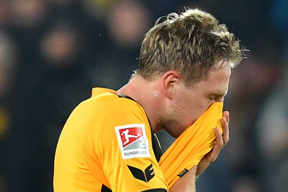 Marco Hartmann nahm die Niederlage gegen den Tabellenletzten komplett auf sich.