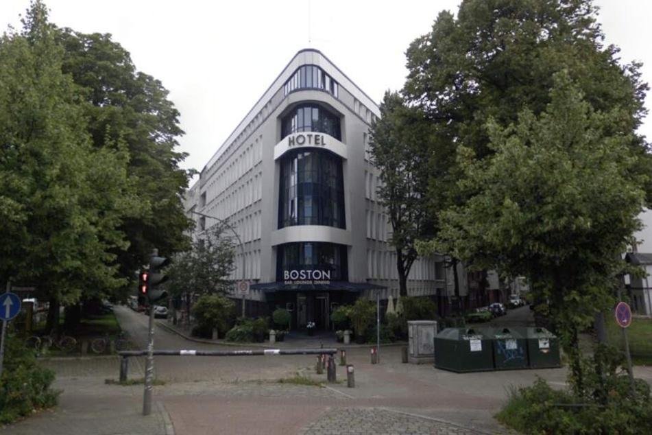 Das Hotel Bosten auf Google Streetview. In der Nacht von Sonntag auf Montag fand hier ein Überfall statt.