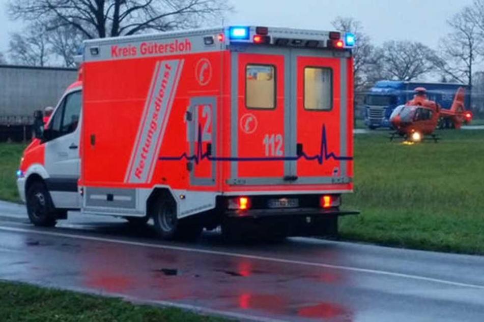 Schwerverletzter bei Kreuzungs-Crash in Rietberg