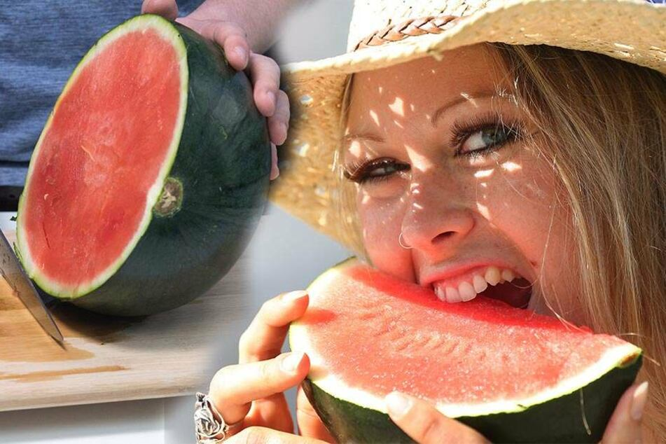 Melonenkerne bieten ein hohes Potenzial. Ob die junge Frau (rechts) sie mitgegessen hat, ist nicht überliefert (Symbolbilder).