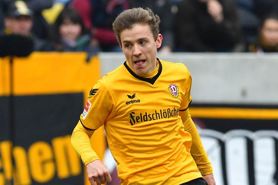 Niklas Hauptmann ist Spieler des Monats April.