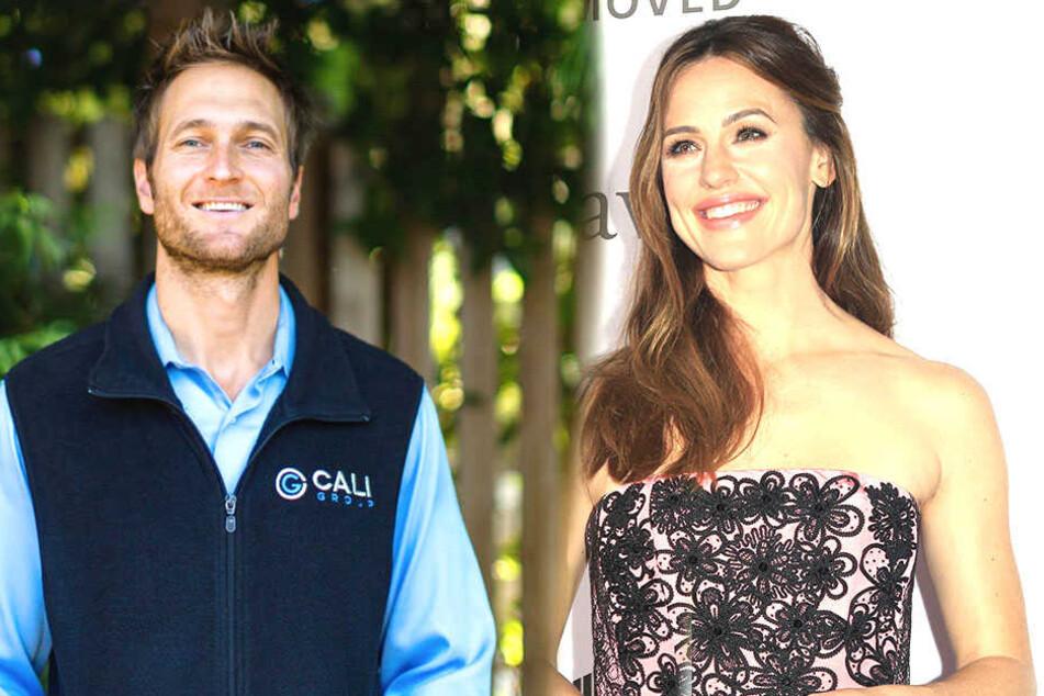John Miller (40, links ) ist ein erfolgreicher US-Unternehmer. Dank ihm kann Jennifer Garner (46) wieder lächeln.