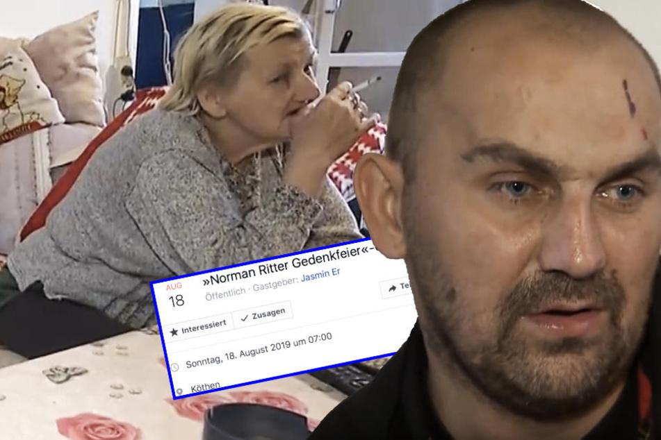 Facebook-Gedenkfeier für Norman! Ist der Sohn von Karin Ritter tot?