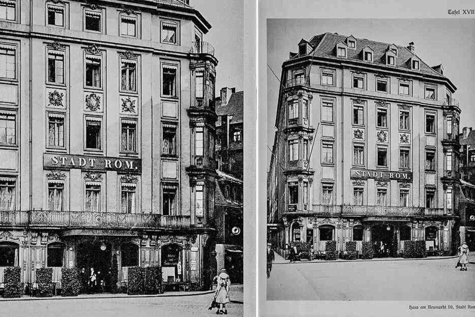 """Das historische Hotel """"Stadt Rom"""" von 1739 - hier nächtige auch schon Giacomo Casanova."""
