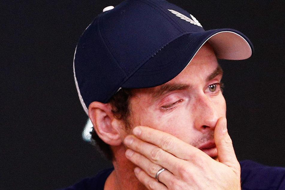 Ein Leben mit Schmerzen! Andy Murray verkündet unter Tränen sein Karriere-Aus