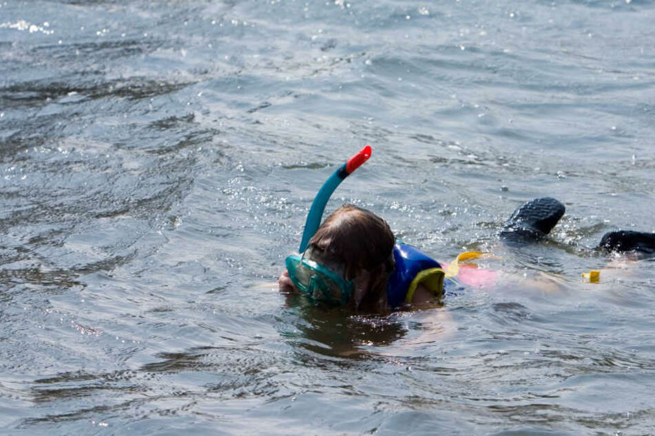 Beim Schnorcheln entdeckten die Kinder die Sprenggranate. (Symbolbild)