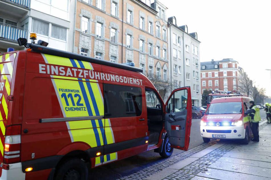 Neben der Berufsfeuerwehr waren auch die Freiwilligen Feuerwehren aus Glösa und Siegmar im Einsatz.