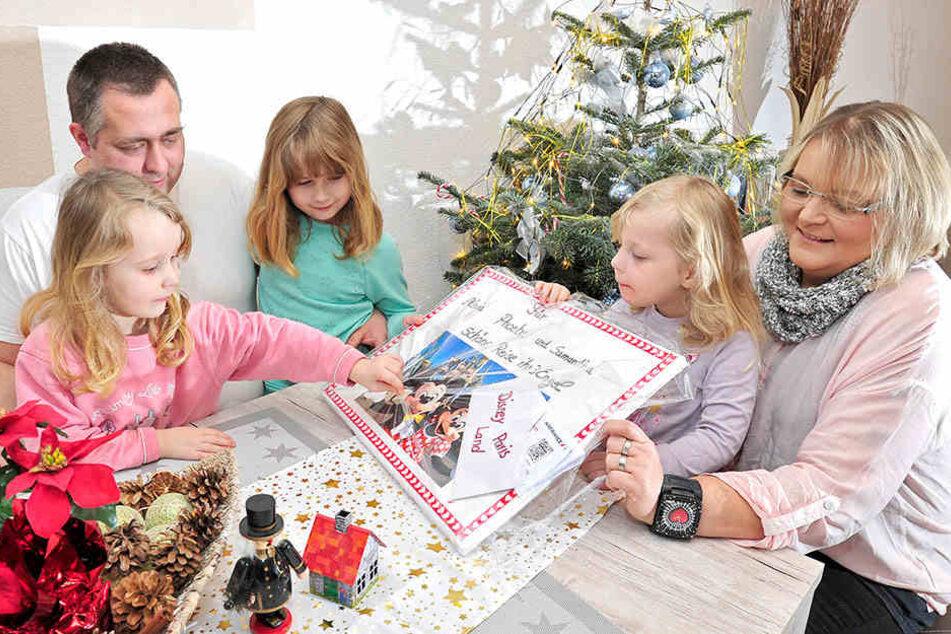 André Bartsch (35) hat seine Frau Diane an den Krebs verloren. In diesen schweren Stunde stehen dem Vater der drei kleinen Mädchen Alexia (7), Phoebe (4) und Samantha (3) warmherzige Menschen wie Manuela Wagner (47) bei.