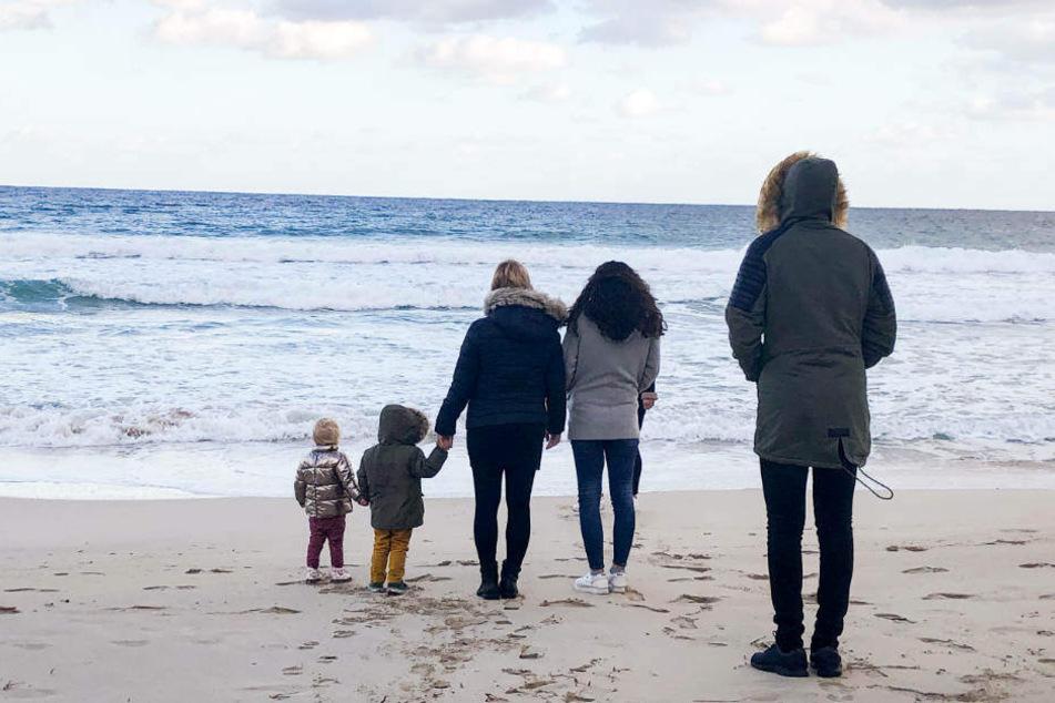 Wie geht es weiter mit Daniela und den Kindern: Jenna, Diego, Daniela, Jada und Volkan (l-r).