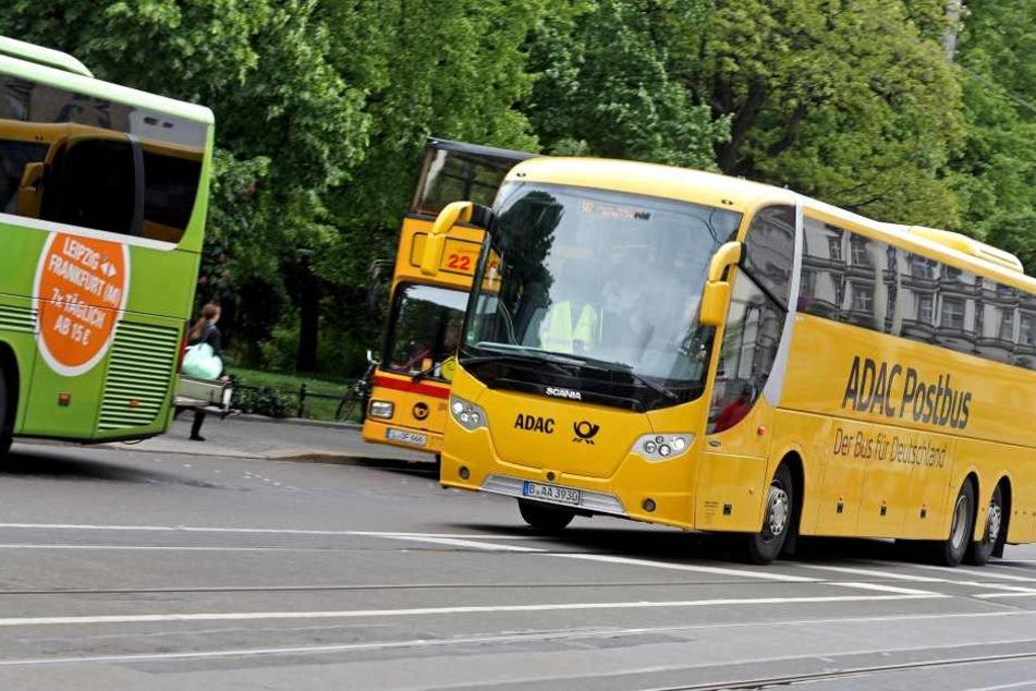 """Eine Tschechin """"verlor"""" ihre beiden Kinder auf der Duchreise nach Prag in einem Fernbus in Leipzig."""