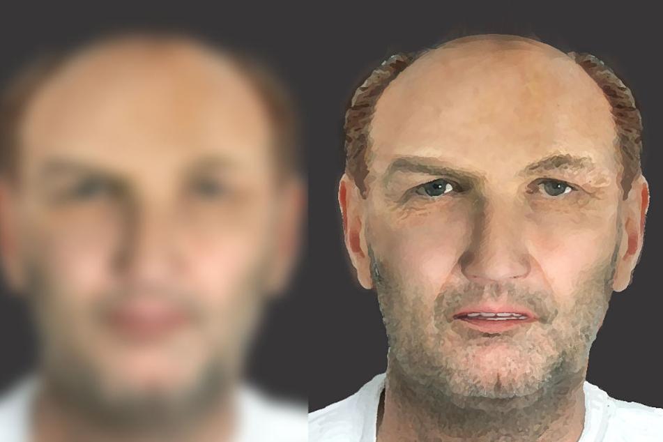 Das Phantom-Bild zeigt den gesuchten Sex-Täter.