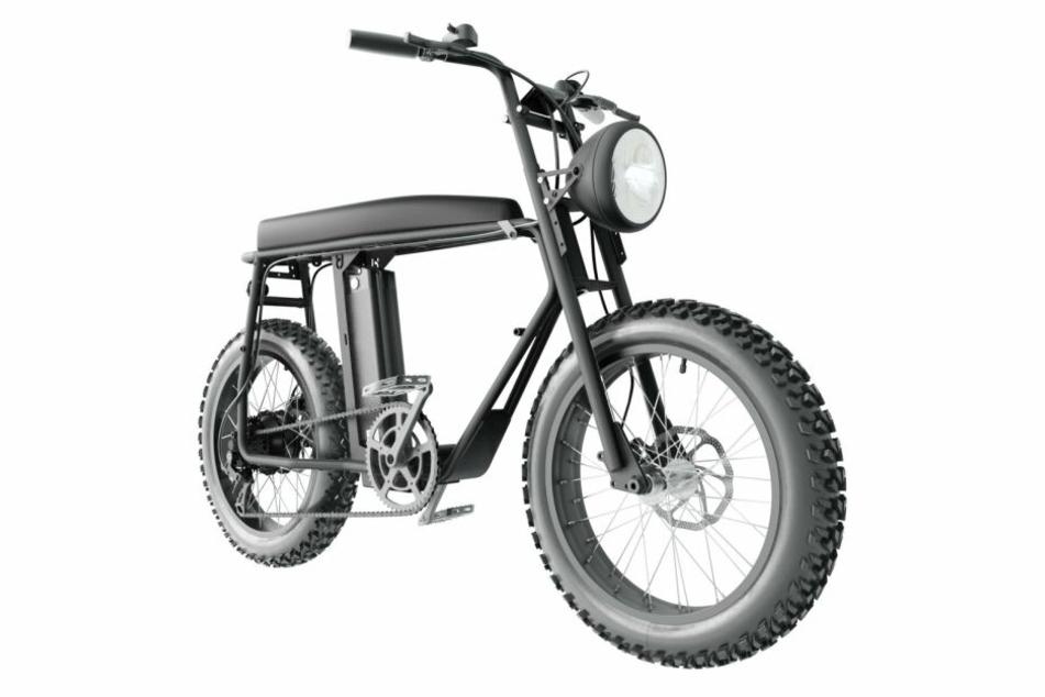 So sieht das E-Bike aus.