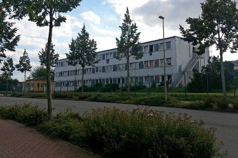 In der Zwickauer Asylunterkunft eskalierte ein Streit unter den Bewohnern.