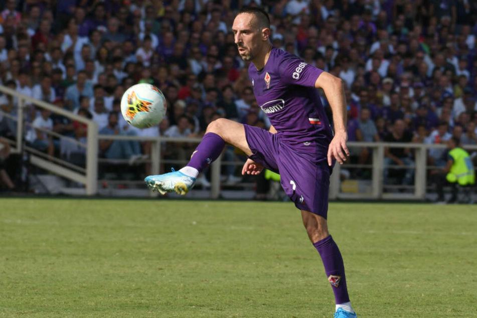 Franck Ribéry wechselte letztlich vom FC Bayern zum AC Florenz - und begeistert seine neuen Fans trotz fortgeschrittenem Fußballer-Alter.