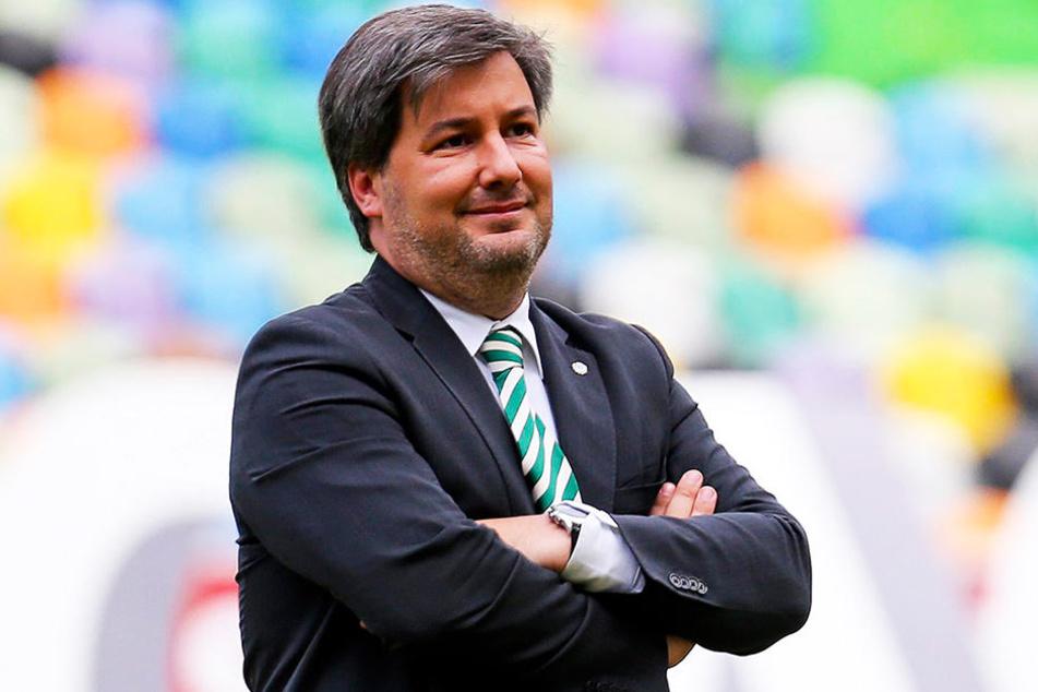 """Der """"Donald Trump des Fußballs"""" soll die Hooligan-Attacke auf die eigene Mannschaft geplant haben: Bruno de Carvalho."""