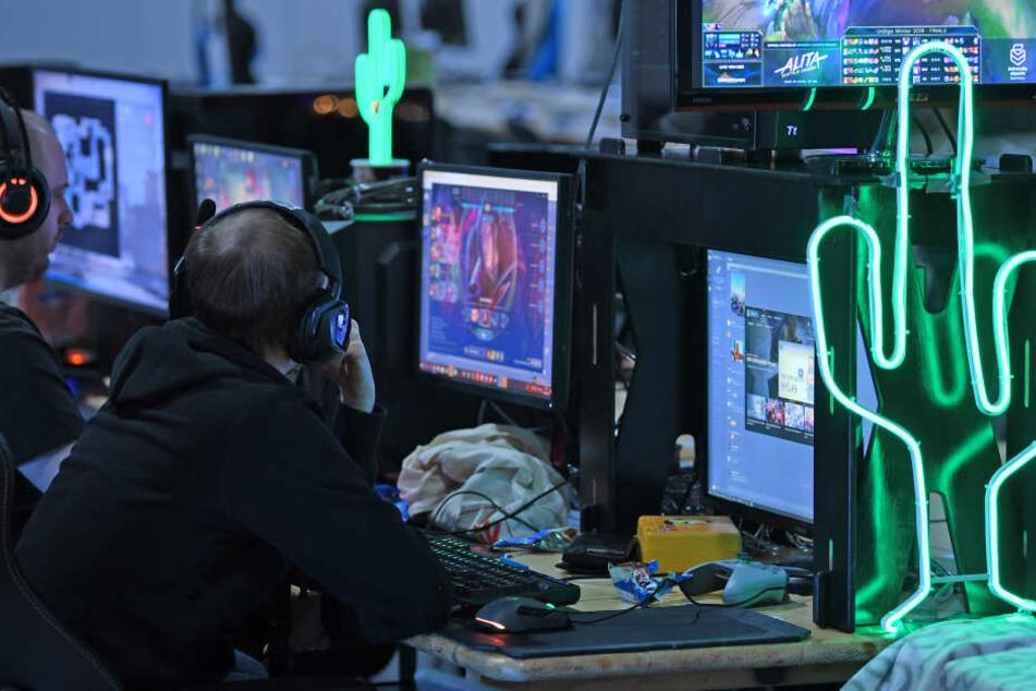 Bis zum Sonntag laufen E-Sport-Turniere, eine LAN-Party sowie ein Cosplay-Turnier.
