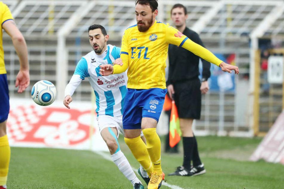 Robert Berger (r.) holte mit dem FCL nach 0:2-Rückstand noch den Sieg.