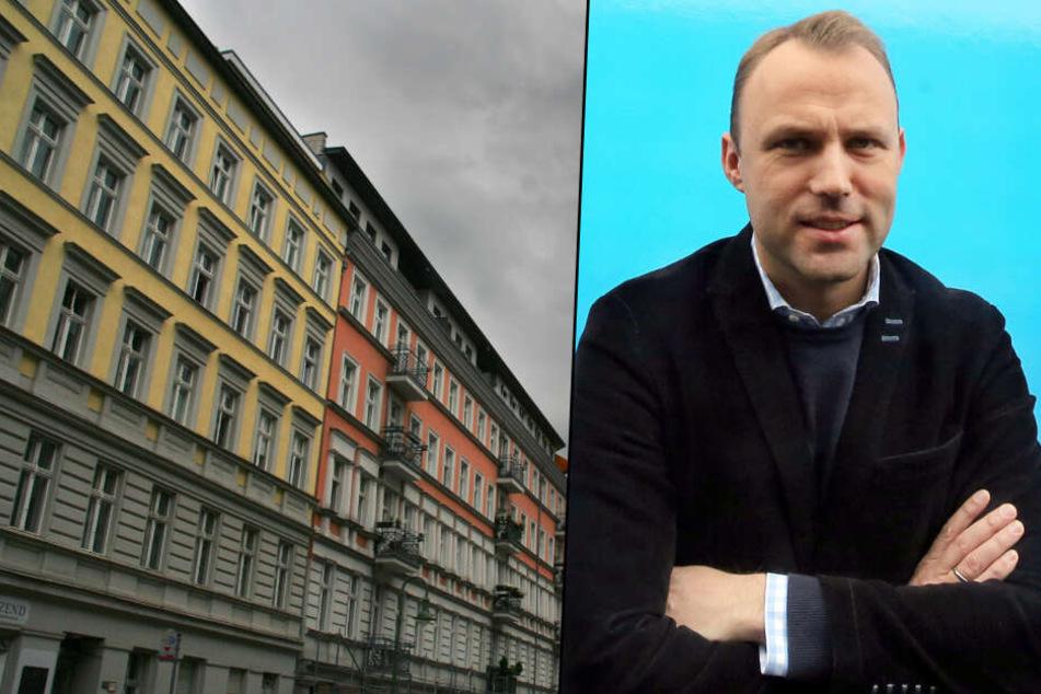 Sebastian Czaja kann sich beim geplanten Mietendeckel-Gesetz für eine Überprüfung den Gang vor Gericht vorstellen. (Bildmontage)