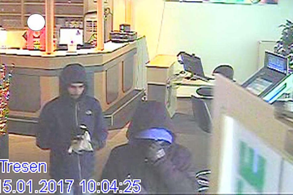 Wer kennt die Täter die am 15. Januar gegen 10 Uhr die Spielothek ausraubten?