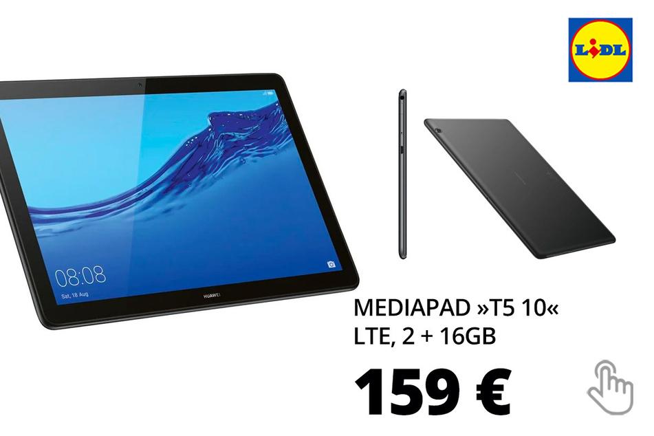 MediaPad »T5 10«, LTE, 2+16GB